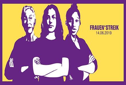 Frauen*streik: Der VSAO bekennt (lila) Farbe